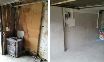 912 Wasserschaden Garage